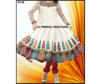MULTICOLOR DESIGNER  INDIAN SUIT W146